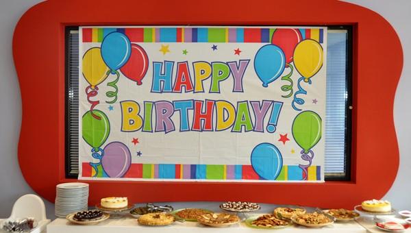 My Gym Doğum Günü Partisi Yemek Stantı