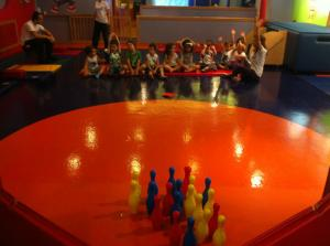 My Gym'de Çocuklar Oyun Oynuyor