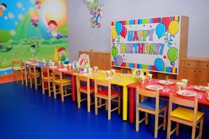 My Gym Doğum Günü Parti Masası